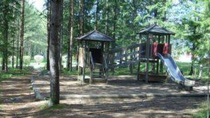 Sieppokujan leikkipuisto.