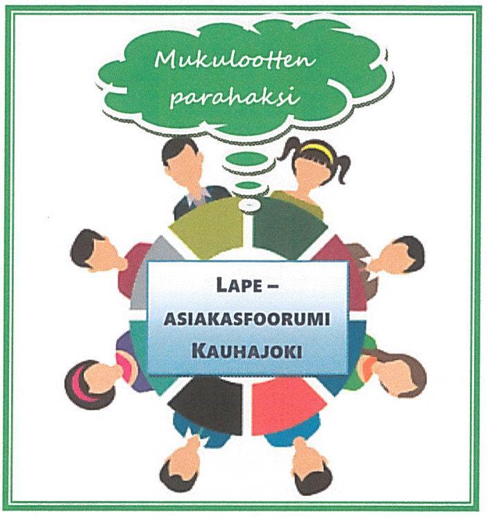 Lape asiakasfoorumin logo