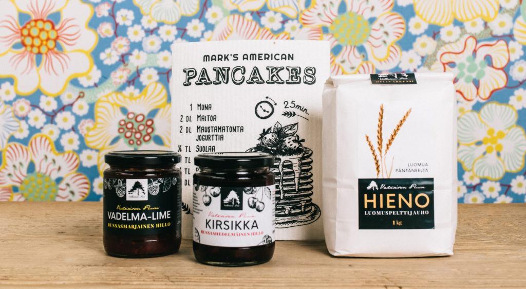 Kauhajoelta saa paikalliset pannukakkujen ainekset, Kauhajoki, Etelä-Pohjanmaa matkailu